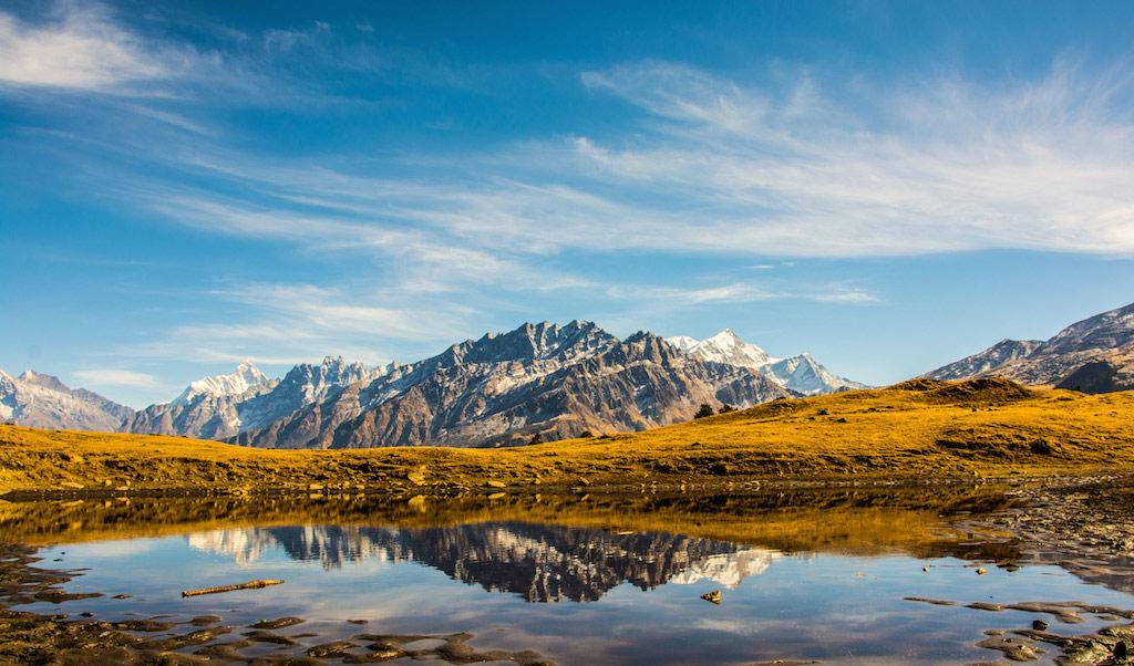Trekking the Kuari Pass in the Indian Himalayas