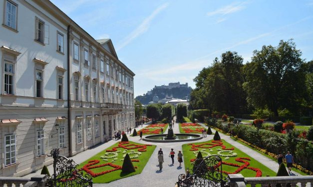 The magic of Mirabell Gardens, Salzburg