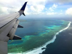 Arriving to Chuuk by air