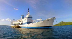 SS Thorfinn dive ship