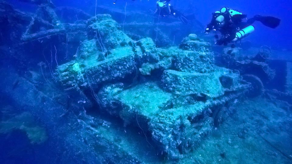 Diving the Wrecks of Truk Lagoon