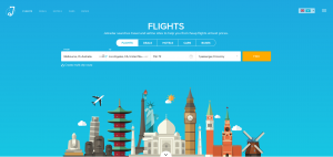Jetradar flight search engine