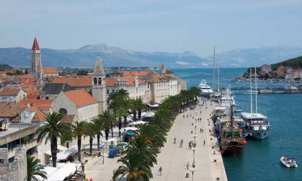 Trogir – ancient Croatian city on the Adriatic